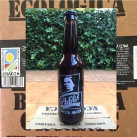 Ecologic Craft Beer Stout with Spelt Celebridade Galega  (Box)