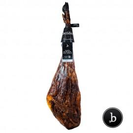 Acorn-fed 100% iberian Ham from Extremadura BERÍDICO