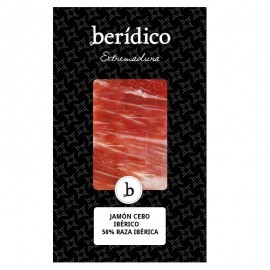 Traditionally-sliced Cebo Iberian Ham from Extremadura 100g BERÍDICO