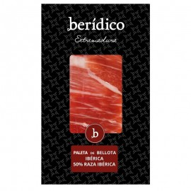 Traditional-sliced Acorn-fed Iberian Shoulder from Extremadura 100g. BERÍDICO