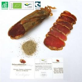 Organic Acorn-fed 100% Iberian Pig Sirloin from Huelva Dehesa Maladúa