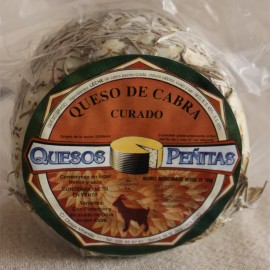 Goat Rosemary Artisan Cheese Cured QUESOS PEÑITAS