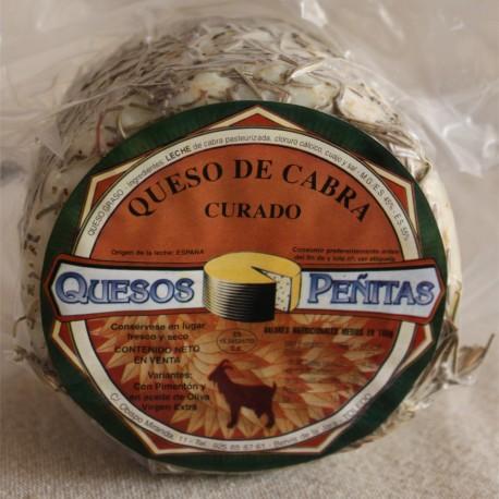 Goat Rosemary Artisan Cheese Cured QUESOS PEÑITAS