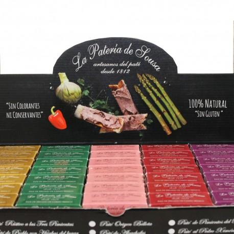 Surtido Patés Ibéricos de Extremadura La Patería de Sousa 5x70g