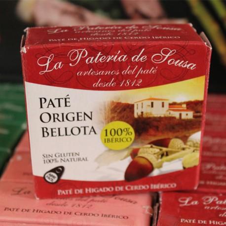 Paté Ibérico de Origen Bellota de Extremadura La Patería de Sousa 70g