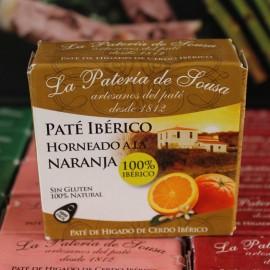 Paté Ibérico Horneado a la Naranja de Extremadura La Patería de Sousa 70g