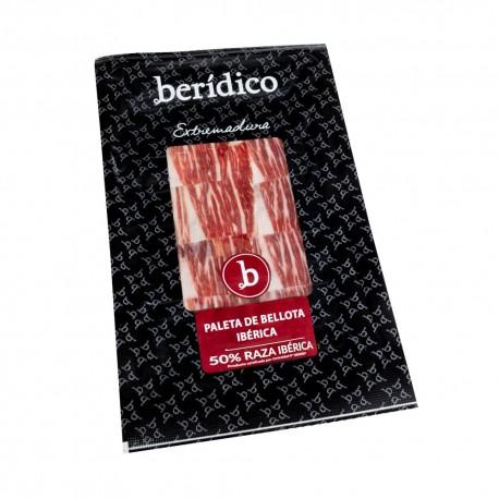 Hand-sliced Acorn-fed Iberian Shoulder from Extremadura 100g. BERÍDICO