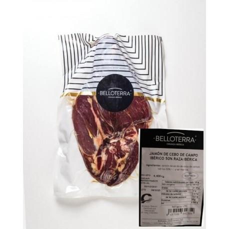Deboned Cebo Campo Iberian Ham from Los Pedroches BELLOTERRA