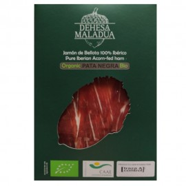 Sliced Organic Acorn-fed 100% Iberian Ham JAMONES ECOLÓGICOS DE JABUGO