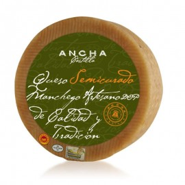 Artisan Manchego Cheese PDO SEMI-CURED ANCHACASTILLA