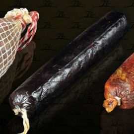 Acorn-fed Iberian Morcilla from Los Pedroches BELLOTERRA 500g approx.