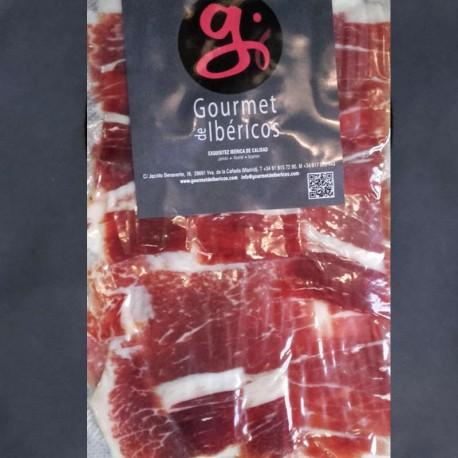Ham-sliced Cebo Campo Iberian Ham from Extremadura 100g 5 IBERICO
