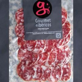 Sliced Extra Quality Iberian Cular Salchichón from Extremadura 100g. 5 IBERICO