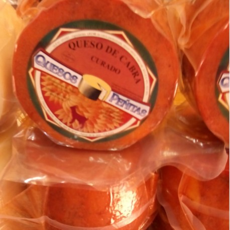 Goat Artisan Cheese Cured in olive oil QUESOS PEÑITAS