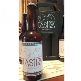 TRIPLE MALT Beer CASTIZA DE MADRID (Box 12 bot.)