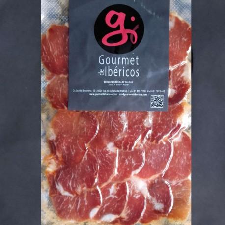 Sliced Cebo Iberian Loin from Extremadura 100g. 5 IBERICO