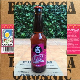 Ecologic Beer Blonde with Honey Celebridade Galega  (Box)